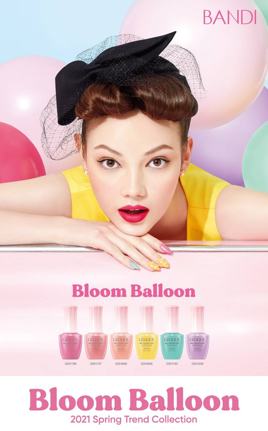 Bandi 2021 Spring Trend - Bloom Balloon